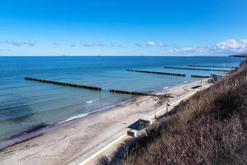 Wall Mural - Strand an der Küste der Ostsee in Nienhagen