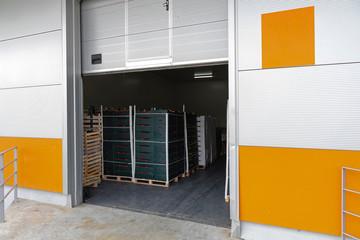 Cargo Door Open Warehouse