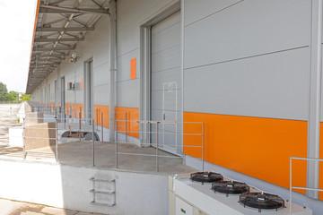 Long Loading Dock Warehouse