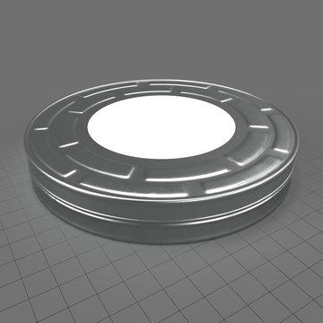 Film roll tin 1