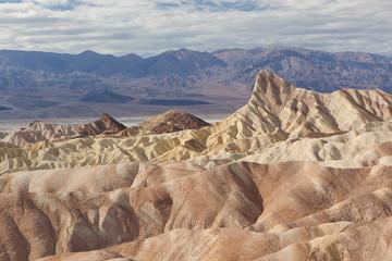 Zabriskie Point in Death Valley, California, USA