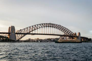 Fotobehang Sydney Sydney Harbor Bridge