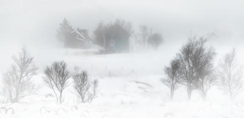 Snowstorm Kilan Village