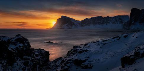 Mahornet sunset panorama