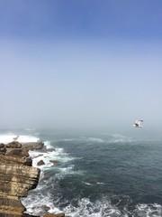 Keuken foto achterwand Europese Plekken Scenic View Of Sea Against Clear Sky