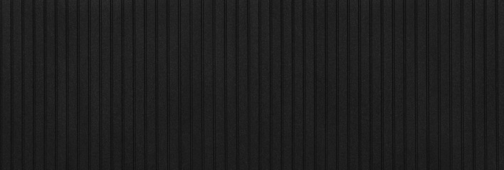 panoramic black metal siding fence striped background
