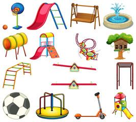 Stores à enrouleur Jeunes enfants Set of playground element