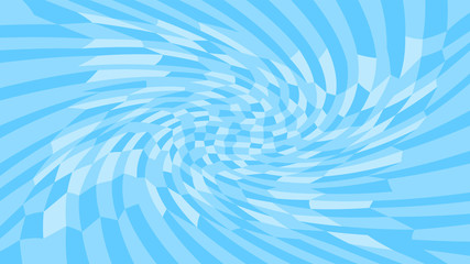 light blue twirl wave pattern abstract for background, optical wave twirl blue color, hypnotic concept, dynamic motion curve of lines flowing, lines wave shaped array of blended points illusion Fotoväggar