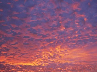 Low Angle View Of Dramatic Sky At Sunset - fototapety na wymiar