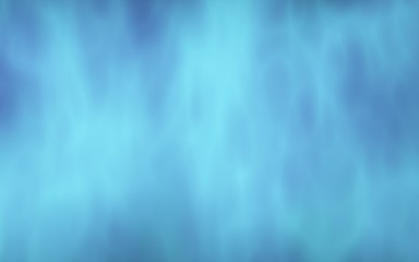 Background of abstract white color smoke isolated on blue color background. The wall of white fog. 3D illustration Wall mural