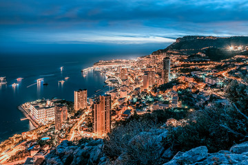 Fototapete - Monaco on the French Riviera