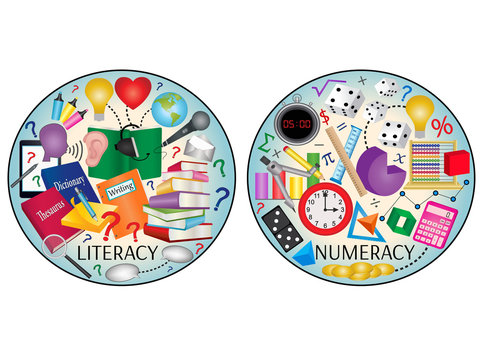 Literacy and Numeracy icons
