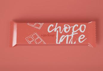 Chocolate Snack Bar Mockup