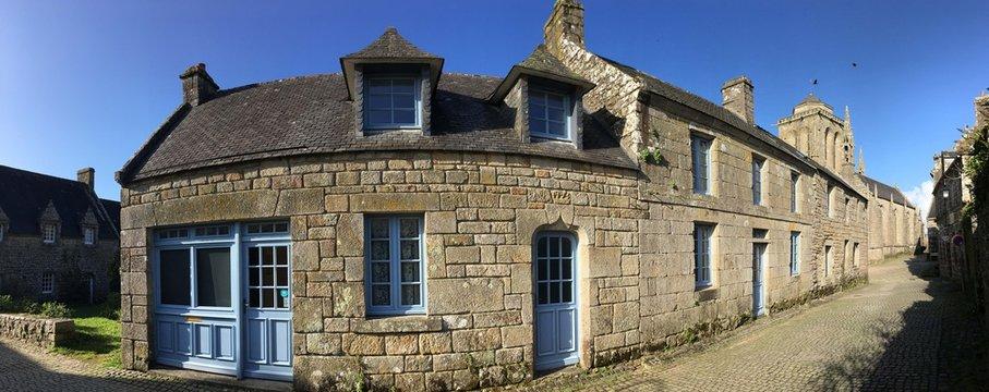 Visite à Locronan en Bretagne Cornouailles Finistère