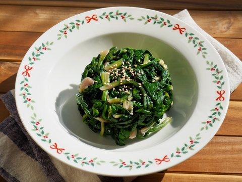 한국의 음식 시금치 무침, 반찬