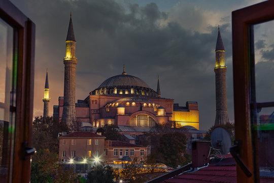 Aya Sofya (Hagia Sophia), Istanbul, Turkey
