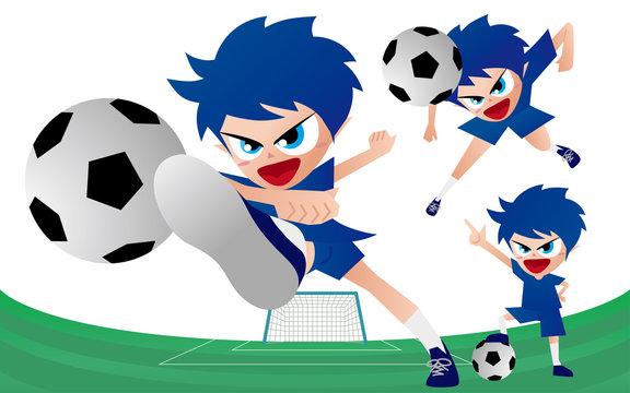 Football Soccer サッカー シュート