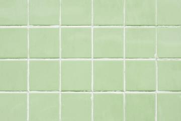 Sage green tile patterned background