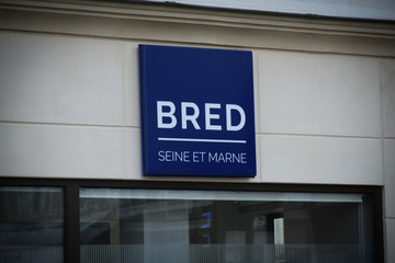 bred signboard