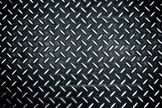 Full Frame Shot Of Diamond Plate