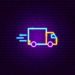 Fast Truck Neon Sign