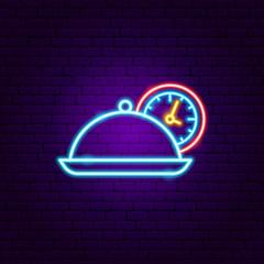 Fast Menu Neon Sign