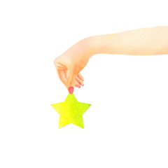 rate something with giving it a star