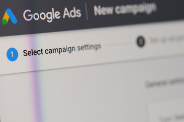 Creating google ad campaign