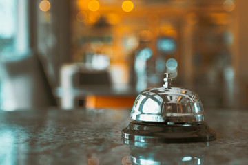 Bell service on counter information