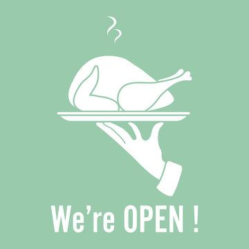 Quarantine Reopen cafe, restaurant Welcoming info