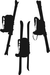 backpack ski