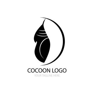 cocoon logo vector design
