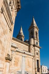 Basilica of Saints Cosmas and Damian. Church in Alberobello, Italy