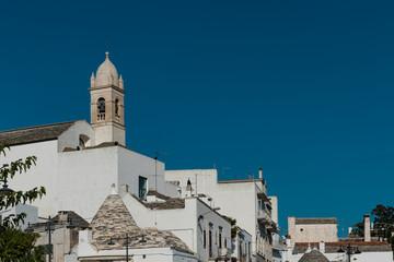 The church of Saint Lucia or Chiesa Rettoria Succursale Oratorio del SS.Sacramento e S.Lucia compatrona in Alberobello, Puglia, Italy