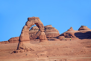 Delicate Arch in the Arches national Park, Utah