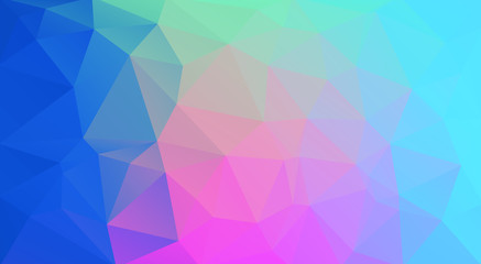 multicolor horizontal triangle background for you design
