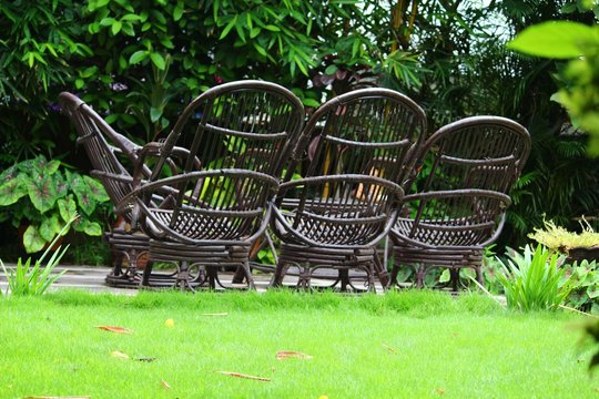 Chairs At Park