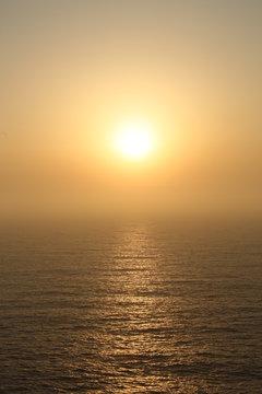 Sonnenuntergang am Meer - südwestlichster Punkt Europas in Portugal