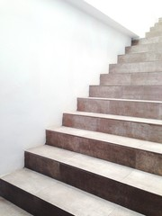 Wall Murals Stairs White Wall And Steps
