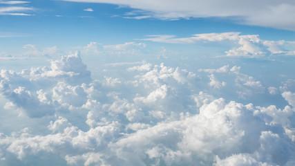 Fototapeta Aerial View Of Cloudscape obraz