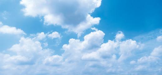 Sky in summer. Fotobehang