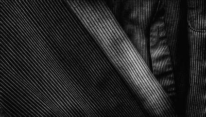 Full Frame Shot Of Striped Shirt