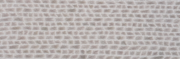 Attractive grey veneer background for your classic style. Natural wood texture, pattern of a long veneer sheet, plank.