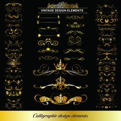 Best Vintage Design EPS cliparts collection 4