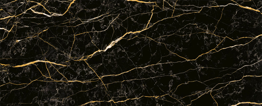 Black marble stone texture background material