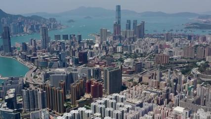 Wall Mural -  Hong Kong from top