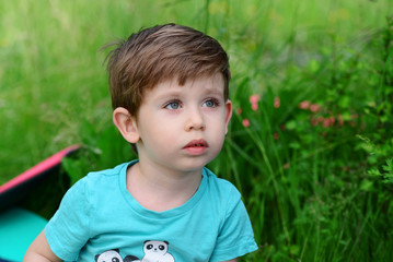 Beautiful little kid