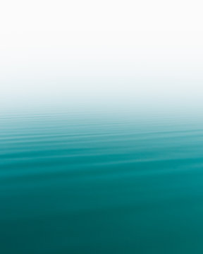 Water ripples.