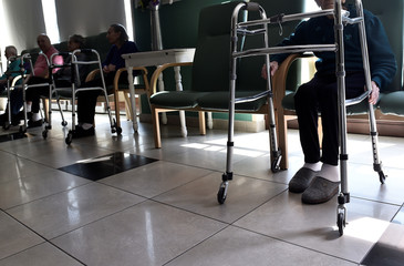 An Italian nursing home during the coronavirus disease (COVID-19) outbreak