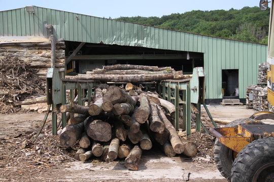 Warming wood industry powerful log splitter